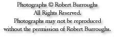 Copyright notice: Photographs © Robert Burroughs